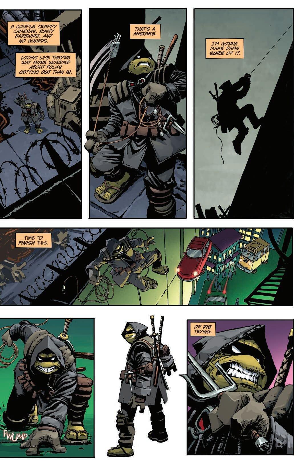 Tortue ninja The Last Roni