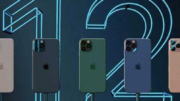 Capacitées et couleurs des iphones 12