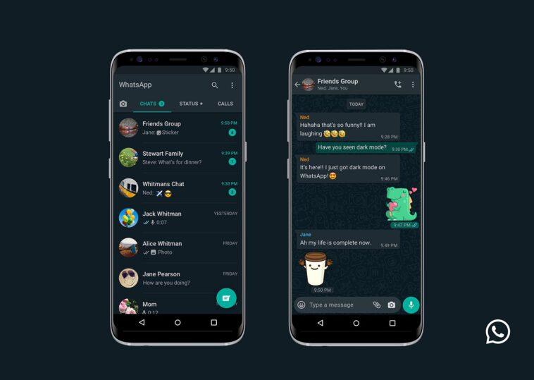 Le mode Dark sur mobile