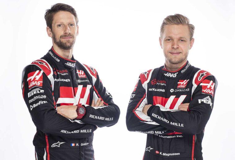 Grosjean et Magnussen