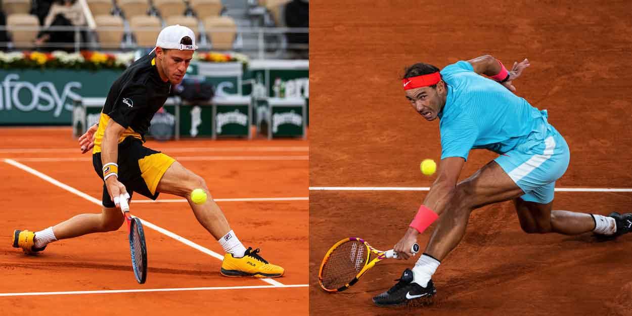 Schwartzman contre Nadal demi-finale de Roland-Garros 2020