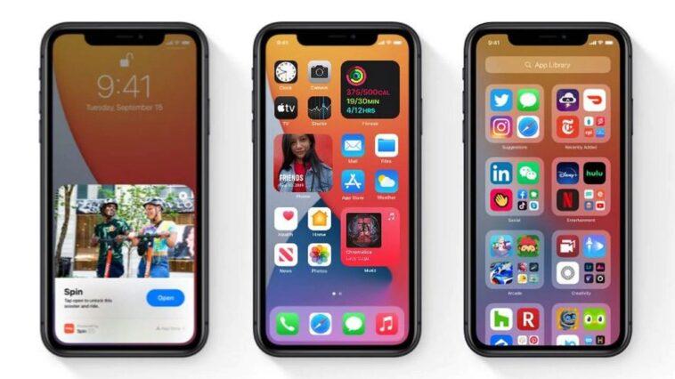 Apples iOS 14.2 mise à jour