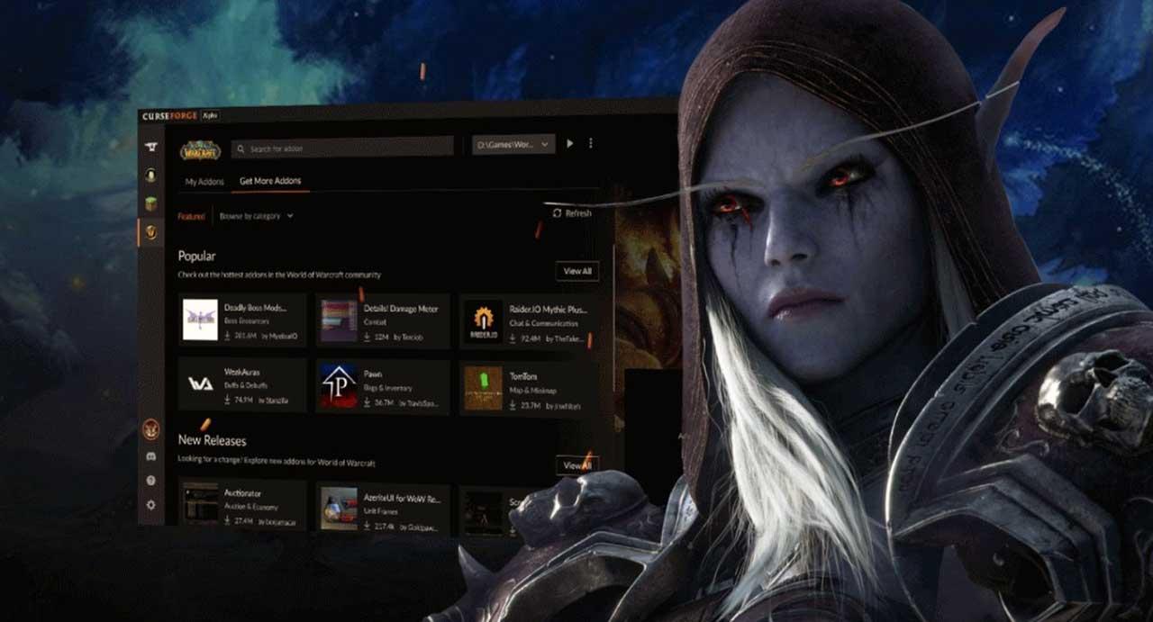 Overwolf a publié aujourd'hui l'application bêta CurseForge, disponible pour Windows et prenant en charge les addons World of #Warcraft!