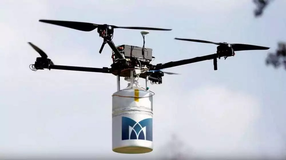 Le record mondial du plus long vol d'un drone multicoptères