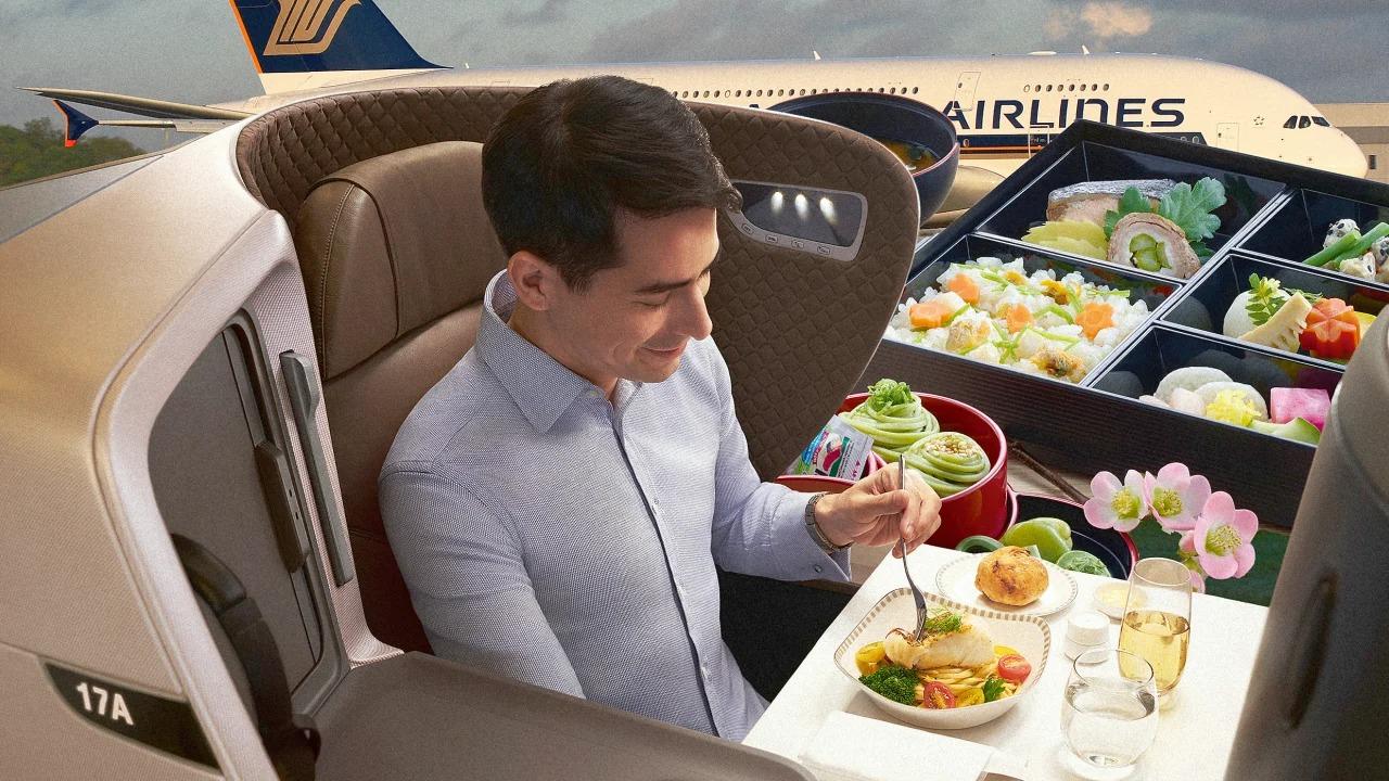 Singapore Airlines transforme ses avions en restaurants