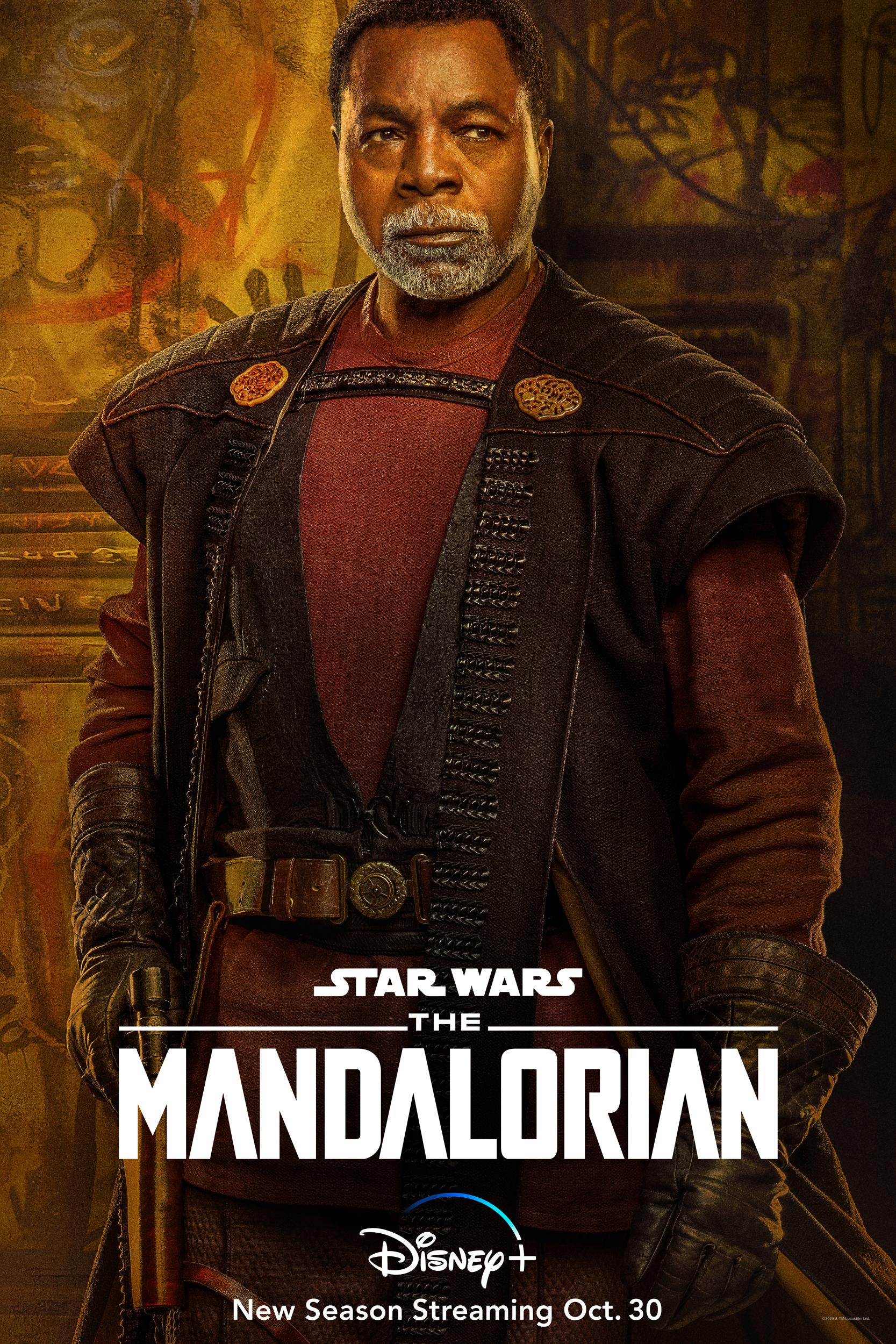 The Mandalorian Season 2 Greef Karga