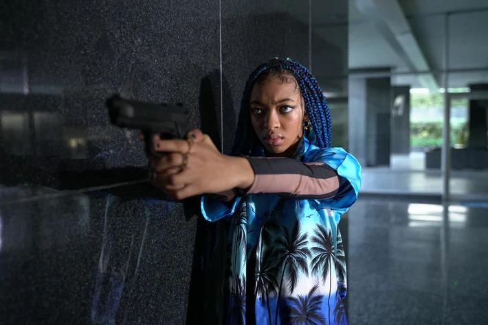 """Zolee Griggs joue le rôle de """"Indigo"""" dans """"L'ennemi juré"""" d'Adam Egypt Mortimer"""
