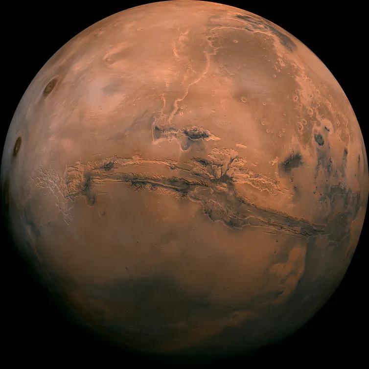 Mars et la Terre ont peu de similitudes