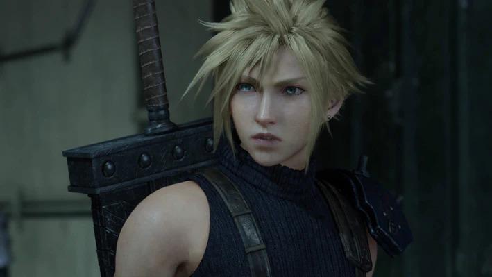 Cloud Strife, ça a l'air bien!Square Enix