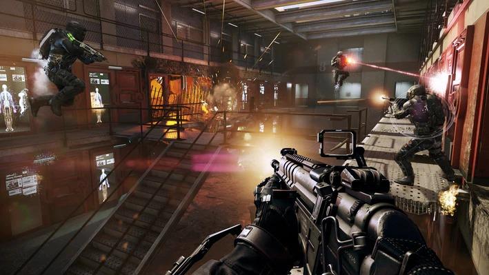 Call of Duty: Advanced Warfare par le développeur Sledgehammer Games.Activision