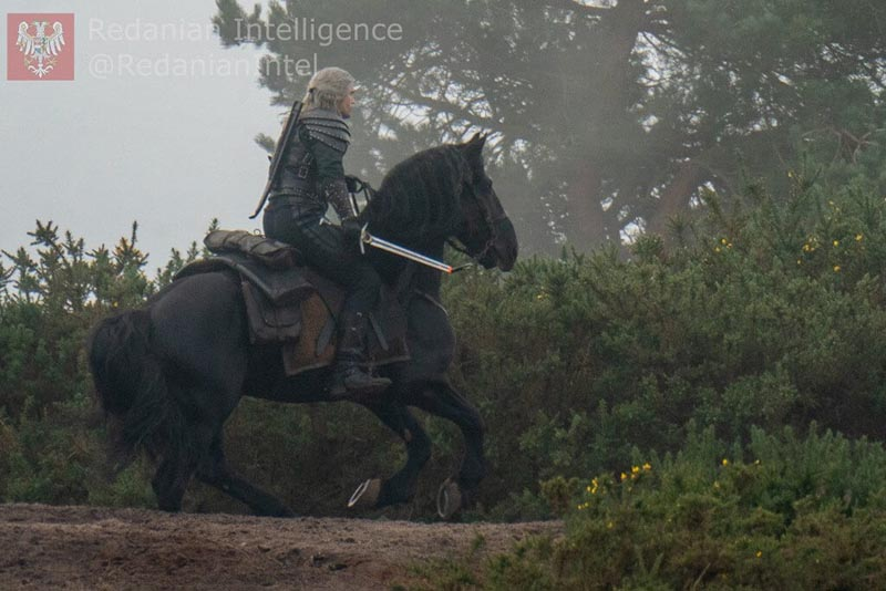 Henry Cavill dans Roach dans la saison 2 de The Witcher - Picture : Les services de renseignements de Redan