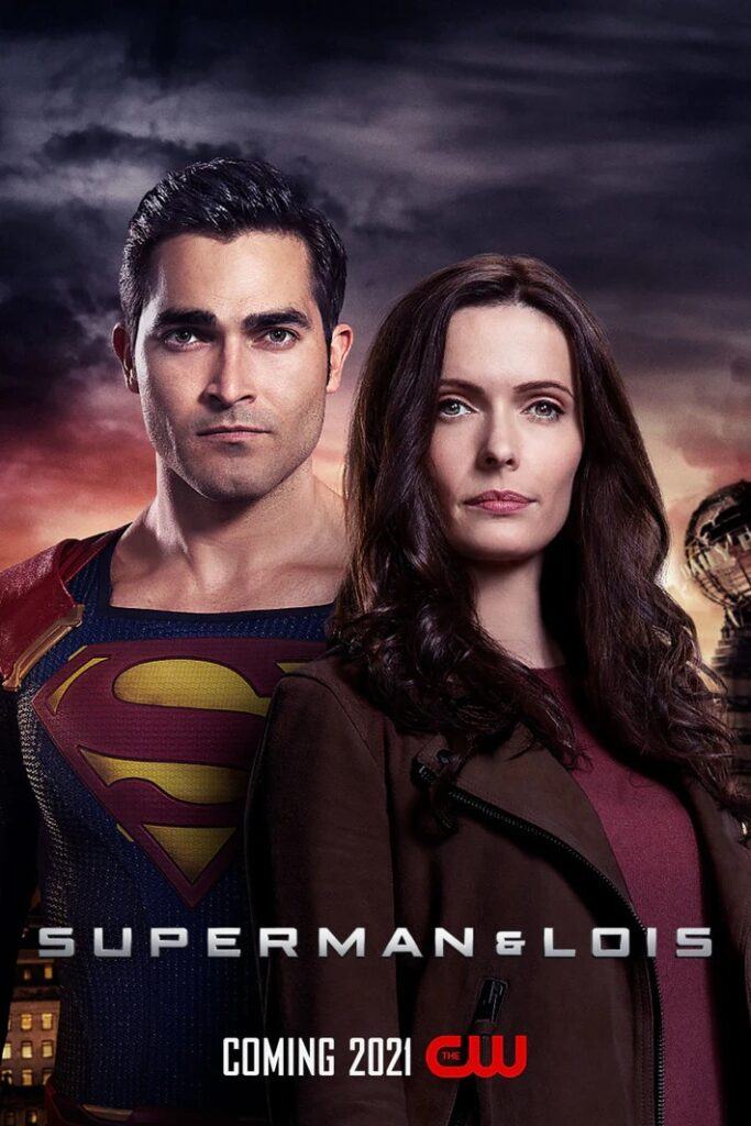 Affiche officielle pour Superman et Lois sur The CW.Le CW