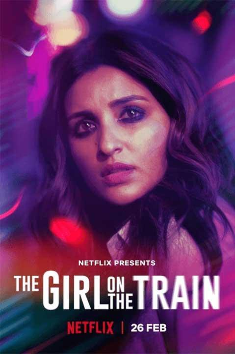 L'affiche officielle de Netflix pour The Girl on the Train