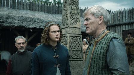 Edward (au centre) entouré d'Ealdorman intrigants