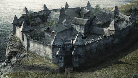 La maison ancestrale d'Uhtred à Bebbanburg