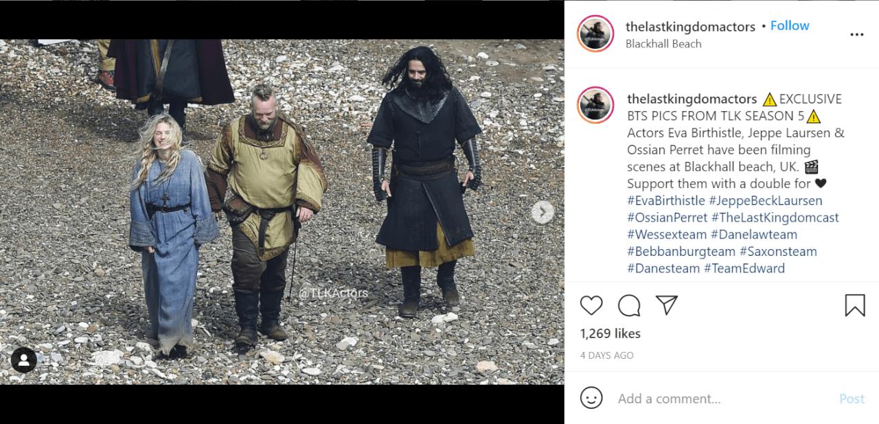 The Last Kingdom Saison 5 netflix tout ce que nous savons jusqu'à présent photo instagram 2