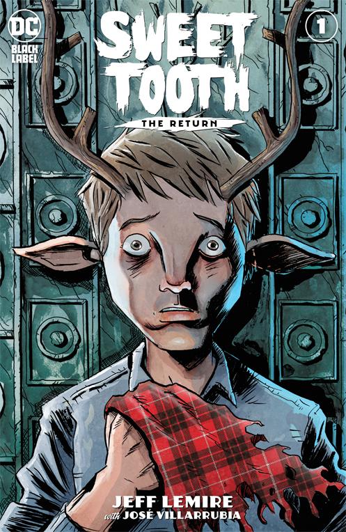 bande dessinée sweet tooth saison 1 netflix dc comics cover