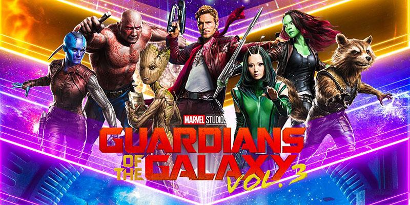 James Gunncles gardiens de la galaxy 3