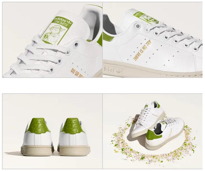 Les fans de Star Wars peuvent ajouter les nouvelles Stan Smith Yoda Adidas à leur collection d'adidas