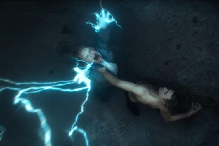 Magne fait appel au pouvoir de Thor pour abattre Vidar