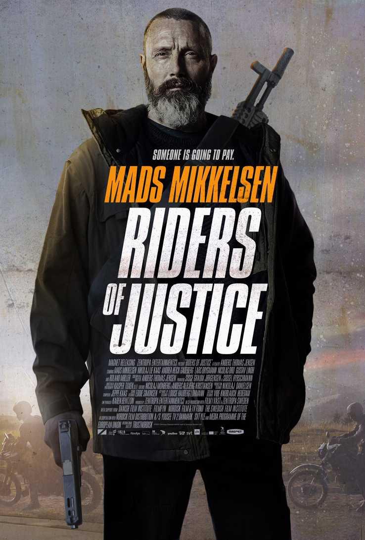 L'affiche de Riders of Justice