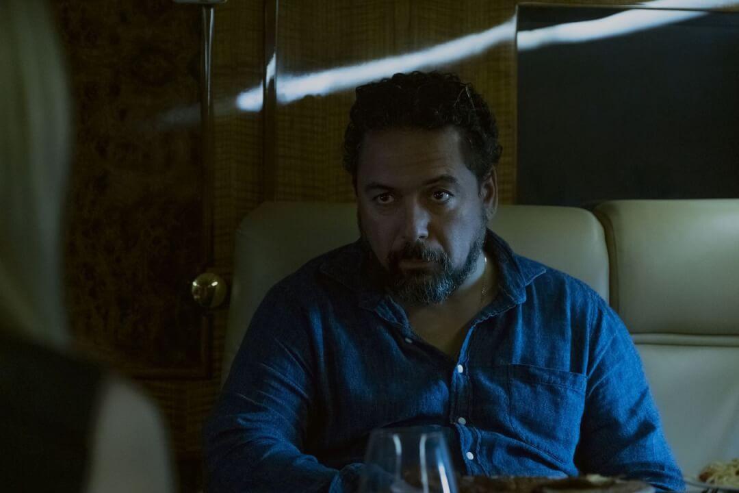 Sur la photo : Felix Solis dans le rôle d'Omar Navarro.