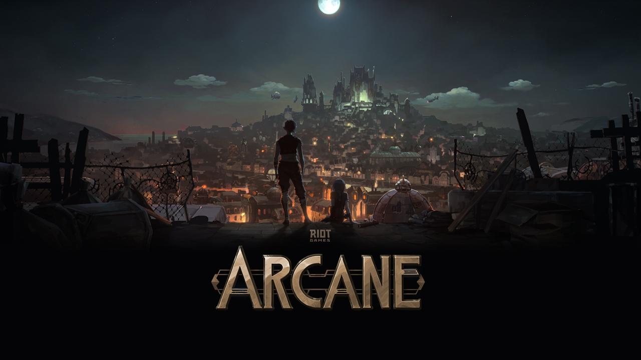 Arcane est une série animée Netflix Original créée par Riot Games