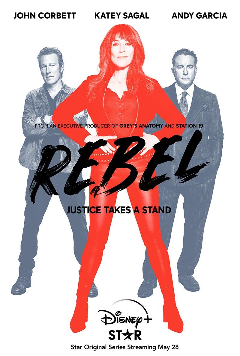 """Affiche de """"Rebel"""" la nouvelle série Star Original inspirée de la vie de Erin Brockovich:"""