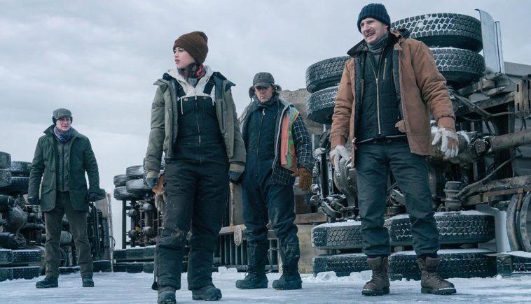 The Ice Road de Netflix.