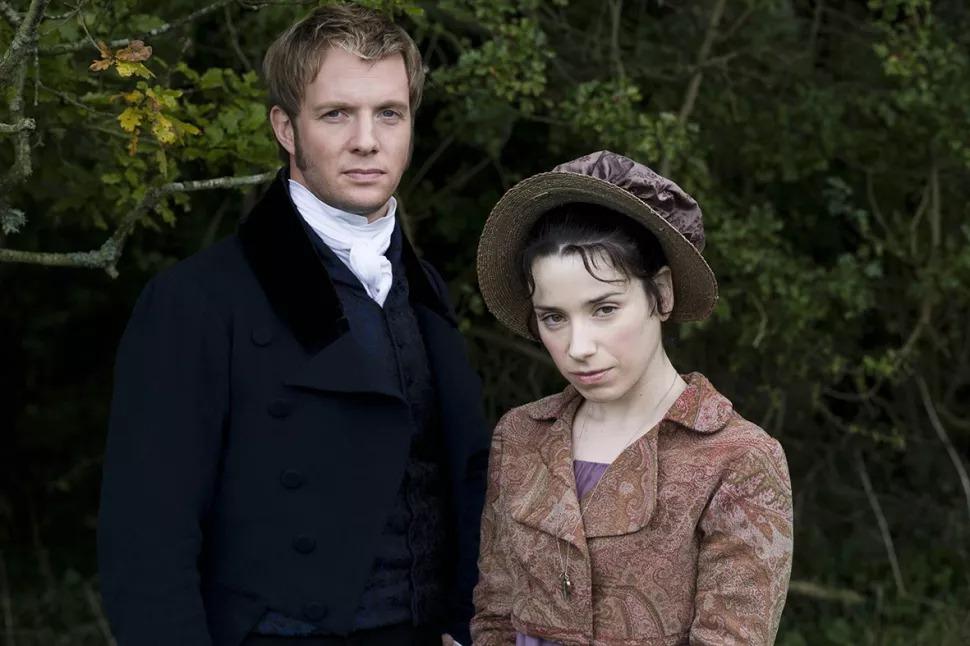 Persuasion en 2007 - la série télévisée ITV avec Sally Hawkins et Rupert Penry-Jones.