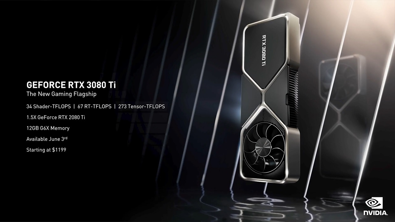 Prix NVIDIA RTX 3080 Ti et 3070 Ti