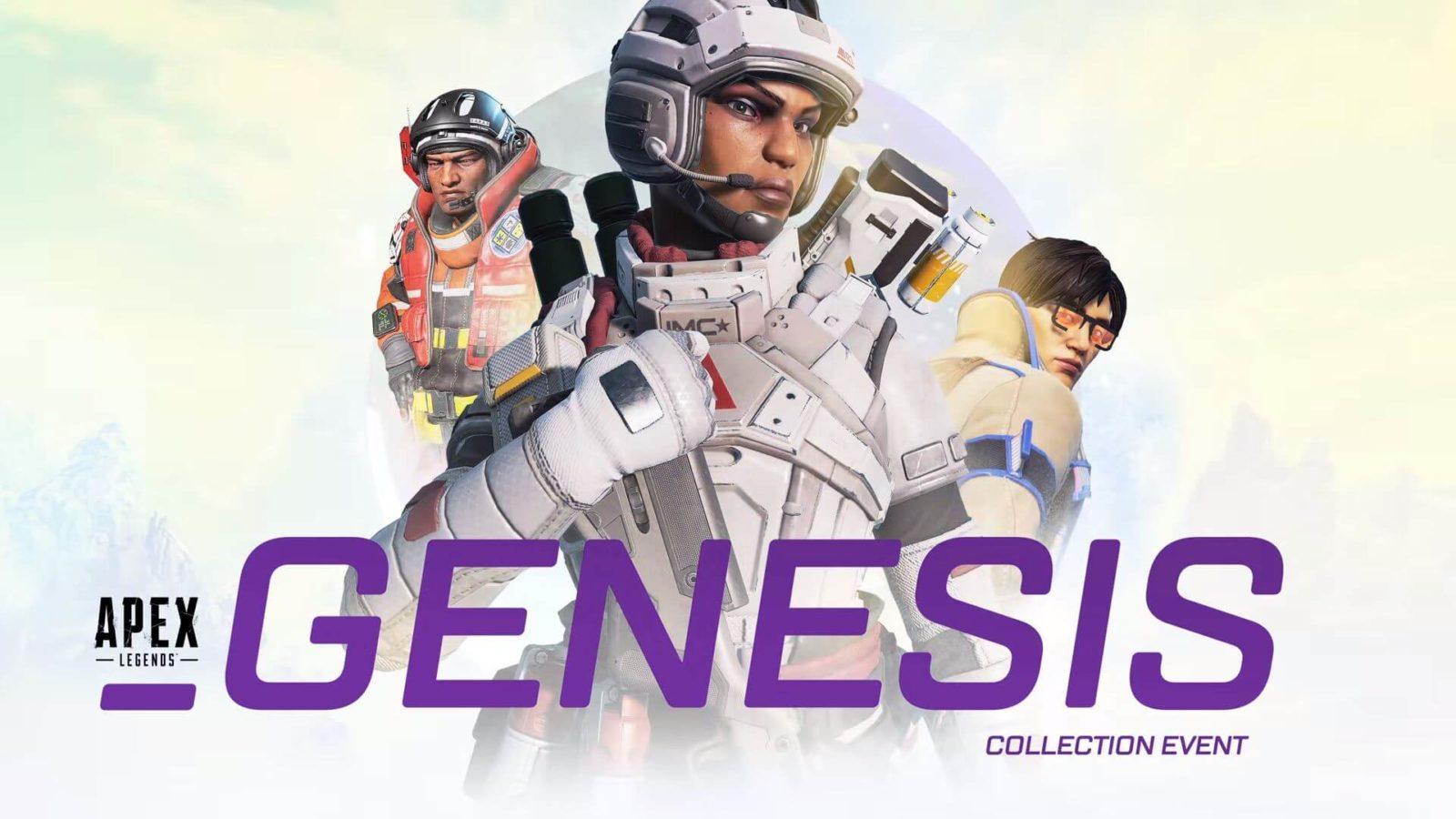 Événement Genesis Collection d'Apex Legends
