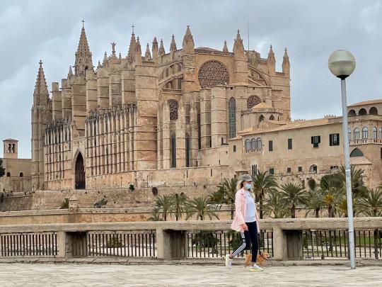 Tourisme à la Playa de Palma à Majorque au temps de la couronne