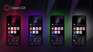 Le premier navigateur de jeux mobiles au monde, Opera GX