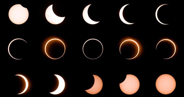 l'éclipse solaire rare de la semaine prochaine