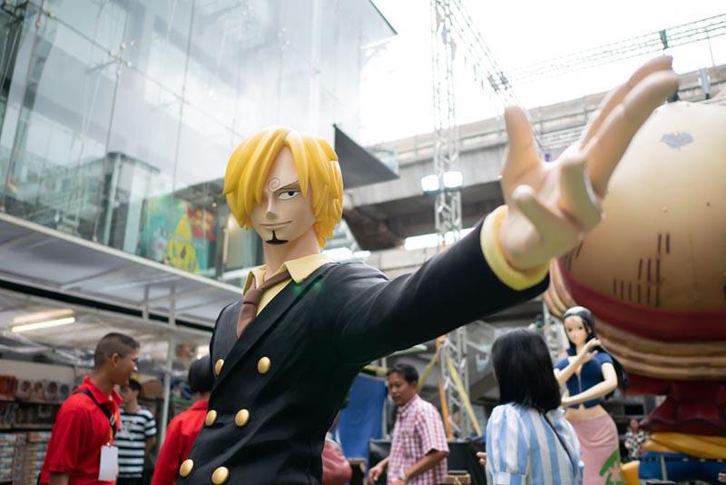 La figurine de Sanji