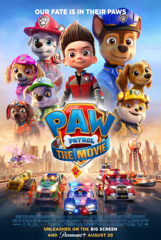Affiche de la Pat'Patrouille : Le Film