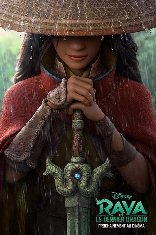 L'affiche de Raya et le dernier dragon