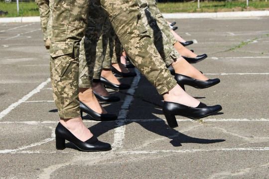 """Ces femmes risquent leur vie et """"ne méritent pas qu'on se moque d'elles"""", a déclaré la députée ukrainienne Inna Sovsun"""