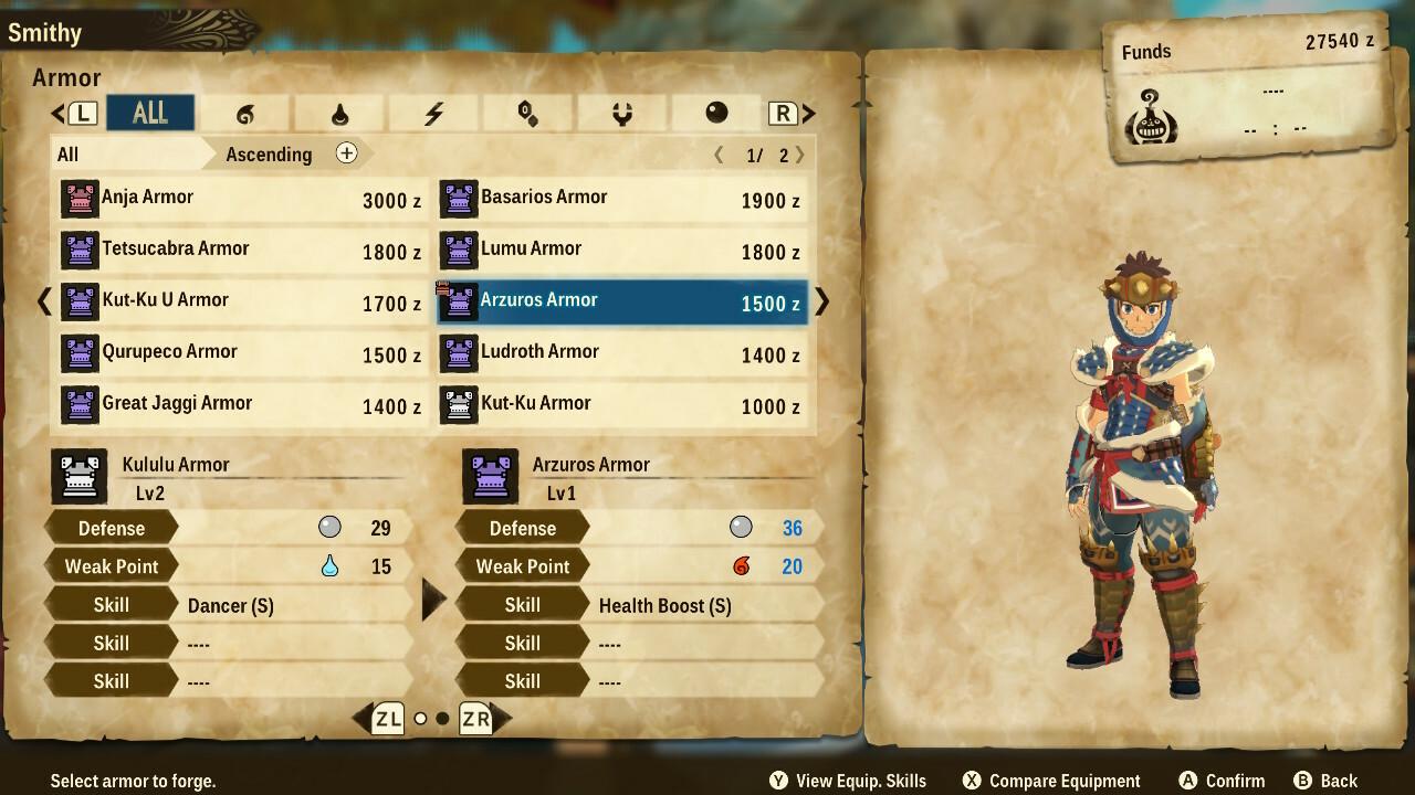 Guide du débutant pour Monster Hunter Stories 2