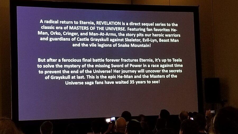 power con snyposis pour les maîtres de l'univers