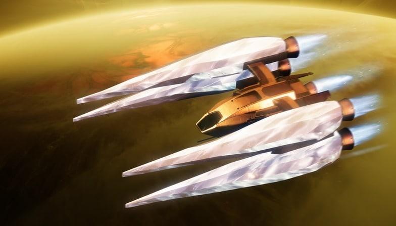 Les Raid Triumphs vous donnent également accès à un vaisseau exclusif