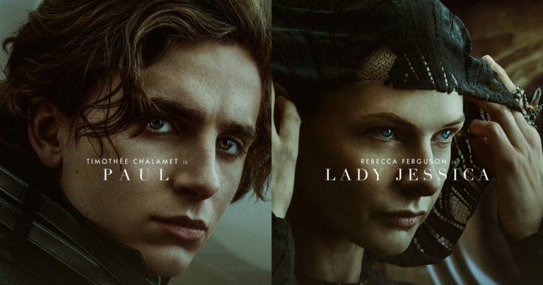Dune dévoile 8 affiches de personnages montrant le look de l'épopée à venir