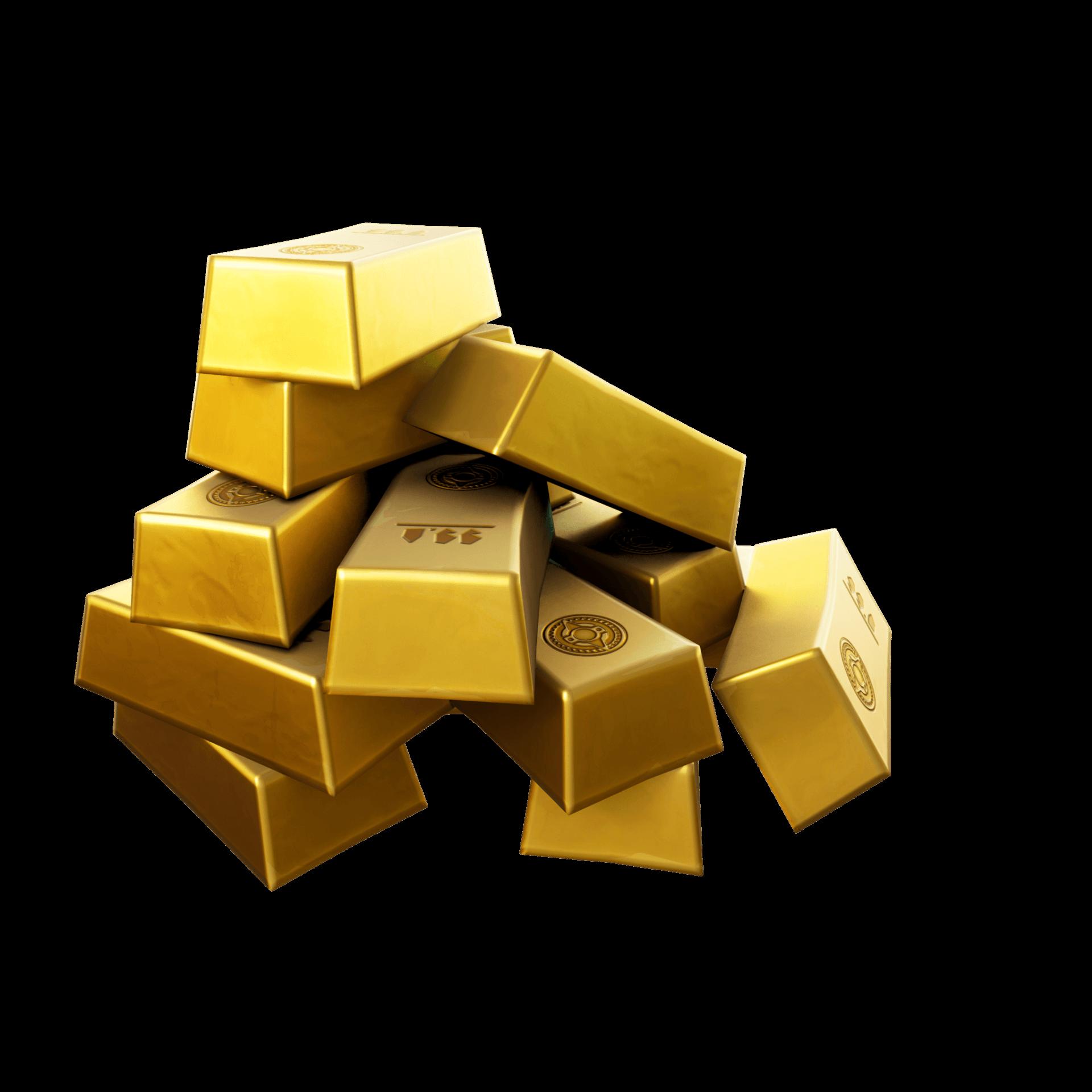 Lingots d'or de Fortnite