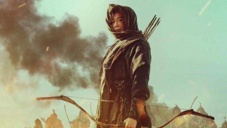 Une photo de Gianna Jun dans le rôle d'Ashin dans Kingdom : Ashin of the North.
