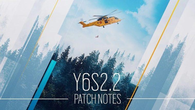 Rainbow Six Siege : Notes de mise à jour Y6S2.2 du 27 juillet