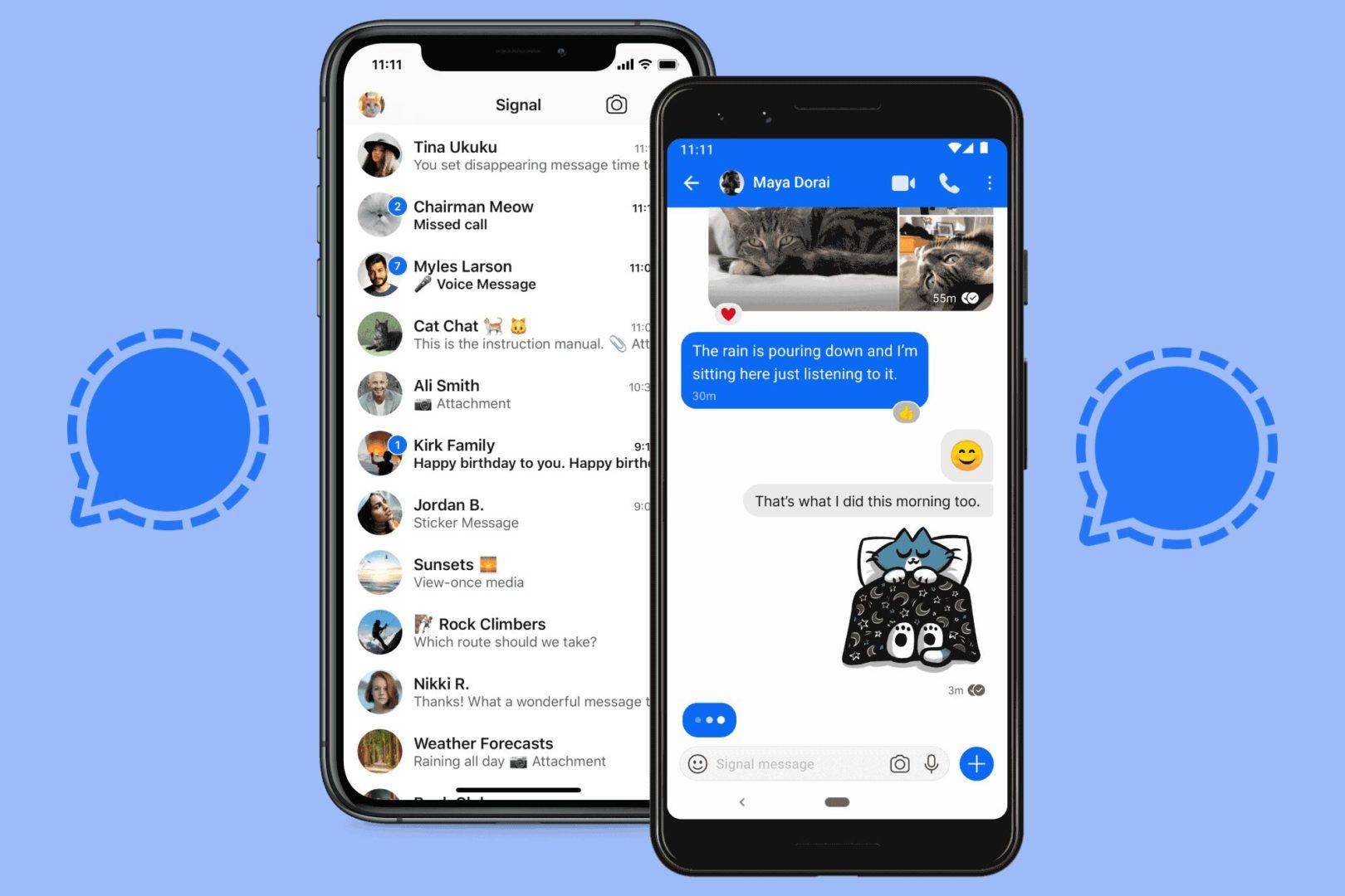 Signal, l'alternative la plus sûre à WhatsApp et Telegram