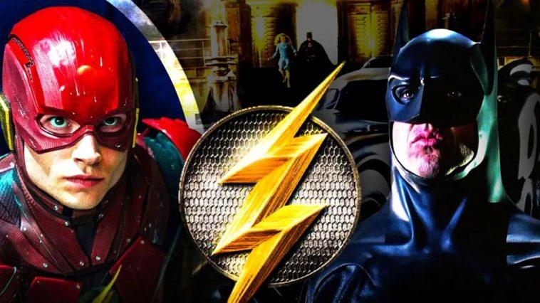 La Batmobile de Michael Keaton aperçue sur le tournage du film Flash