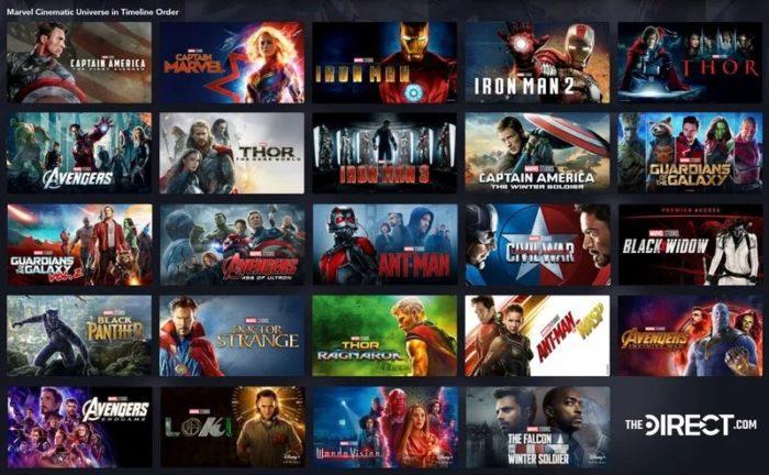 Disney Plus dévoile la nouvelle chronologie du Marvel Cinematic Universe