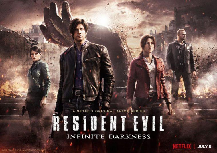 Infinite Darkness, la série télévisée de Netflix consacrée à Resident Evil, est disponible dès maintenant.